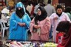 Women shopping in the Souk