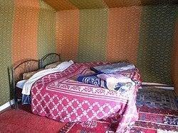 Haima del campamento de Zagora