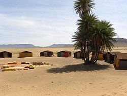 Nuestro campamento en Zagora