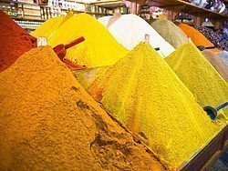 Shopping in Marrakech, spices