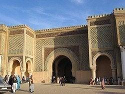 Meknes, puerta Bab Mansour