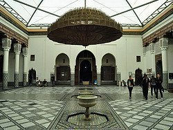 Museo de Marrakech, patio interior