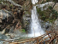 Ourika Valley, waterfall