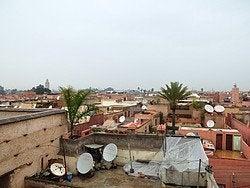 Palacio Badi, vistas desde la muralla