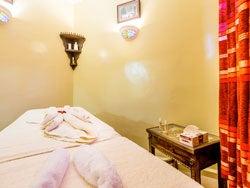 Sala de masaje árabe