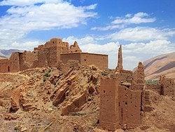 Ruinas en el Valle del Dades