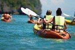 Excursión en kayak con snorkel