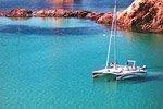 Paseo en catamarán por el norte de Menorca