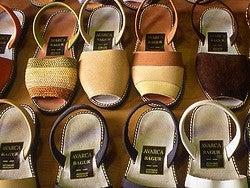 Productos típicos de Menorca: Avarcas