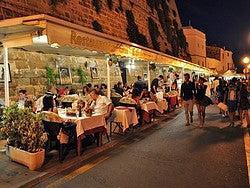 Famoso restaurante del puerto de Ciudadela