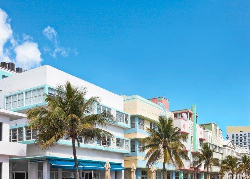 Edificios típicos del Distrito Art Decó