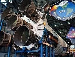 Cohete NASA en Cabo Cañaveral