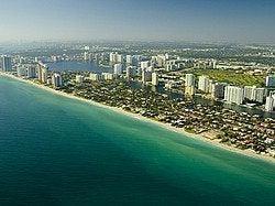 Miami Beach desde el aire