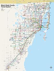Plano de Metrobus de Miami