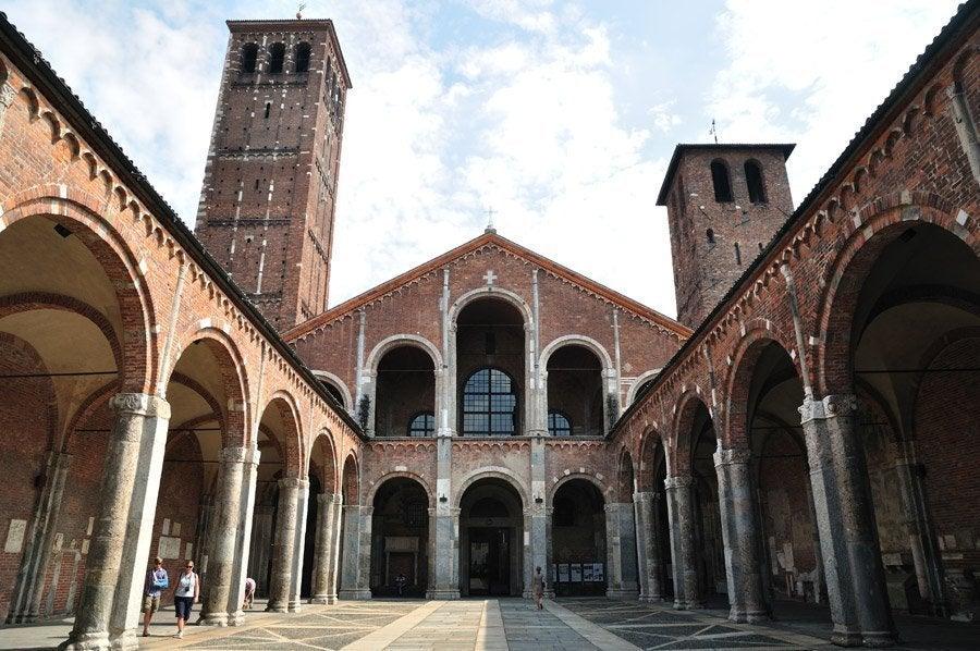 Resultat d'imatges de basilica san ambrosio milan