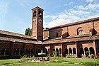 Abbaye de Chiaravalle, cloître