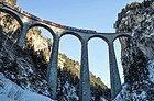 Bernina Express recorriendo los Alpes Suizos