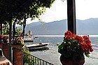Lake Como, breakfast at Bellagio