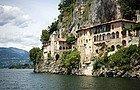 Lago Maggiore, Monasterio de Santa Caterina del Sasso