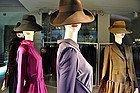 Escaparate de una tienda de moda en Milán