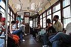 Tramway de Milan, intérieur
