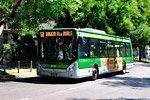 Autobuses en Milán