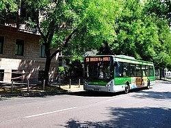 Autobús en Milán