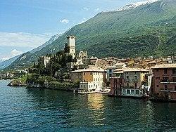 Lago de Garda, Malcesine