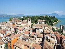 Lago de Garda, Sirmione vista desde el castillo
