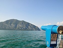 Lago de Iseo, vistas desde Iseo