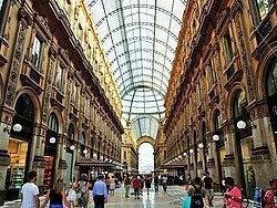 Milán, Galería Vittorio Emanuele