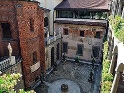 Pinacoteca Ambrosiana, patio