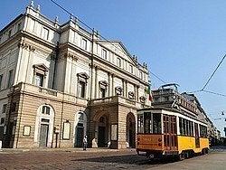 Tranvia de Milan, Teatro alla Scala