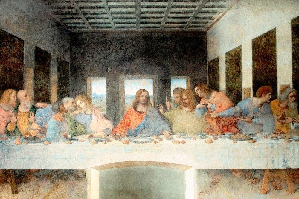 La Última Cena de Leonardo da Vinci (copia)