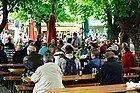 Viktualienmarkt, biergarten