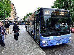 Autobús en Múnich