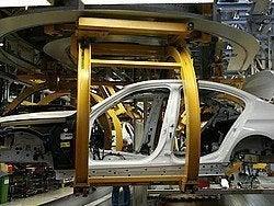 Fábrica de BMW, montaje