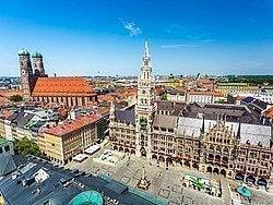 Marienplatz desde Peterskirche