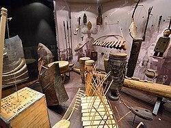 Museo de la Ciudad, Instrumentos musicales