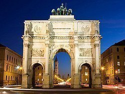 Siegestor, el Arco del Triunfo de Múnich