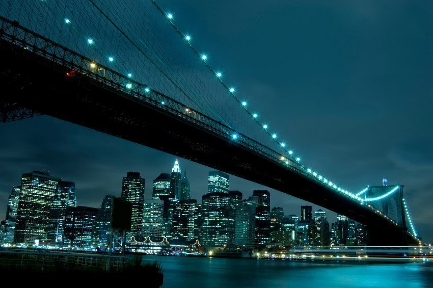 Vistas de Manhattan desde Brooklyn Heights