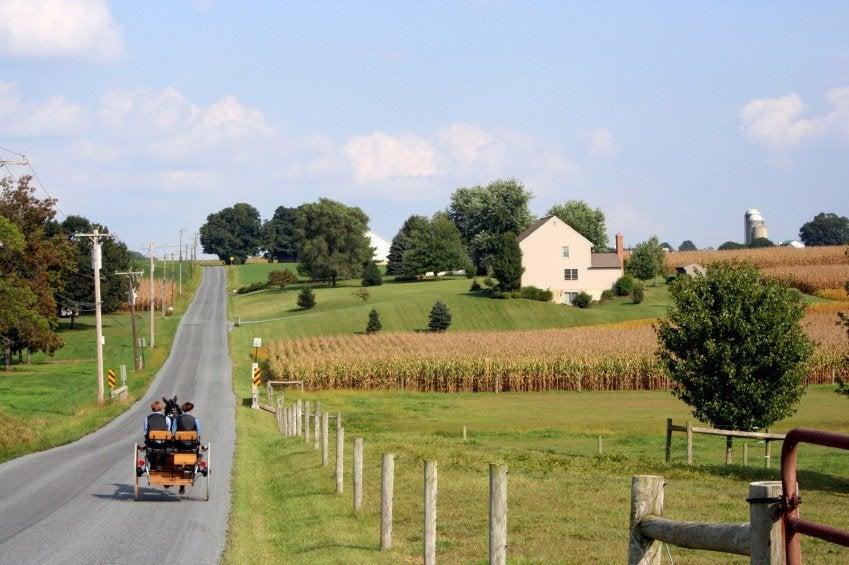 Recorriendo la región de los Amish
