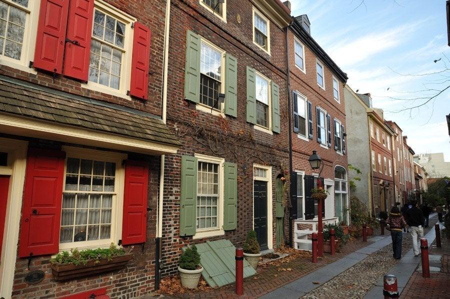 Elfreths Alley, la calle más antigua del país