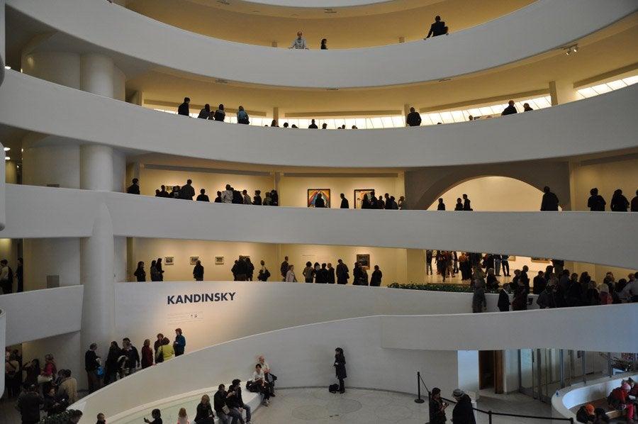 Guggenheim Museum - Opening hours, price and location  Guggenheim Inside