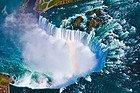 Cataratas del Niágara desde el aire
