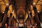 St Patrick's Cathedral, inside
