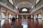 Ellis Island, registry room