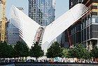 Estación central del WTC, diseñada por Calatrava
