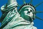Statue de la Liberté en détails
