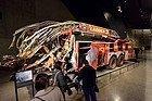 Museo del 11-S, camión de bomberos